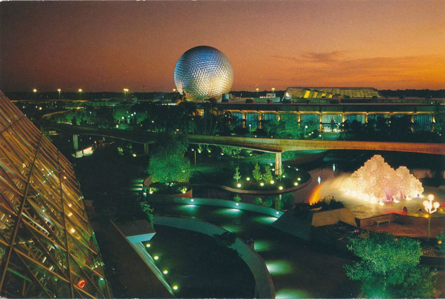 Orlando, Florida - Disney Epcot Center - Future World - Dreams to Realities