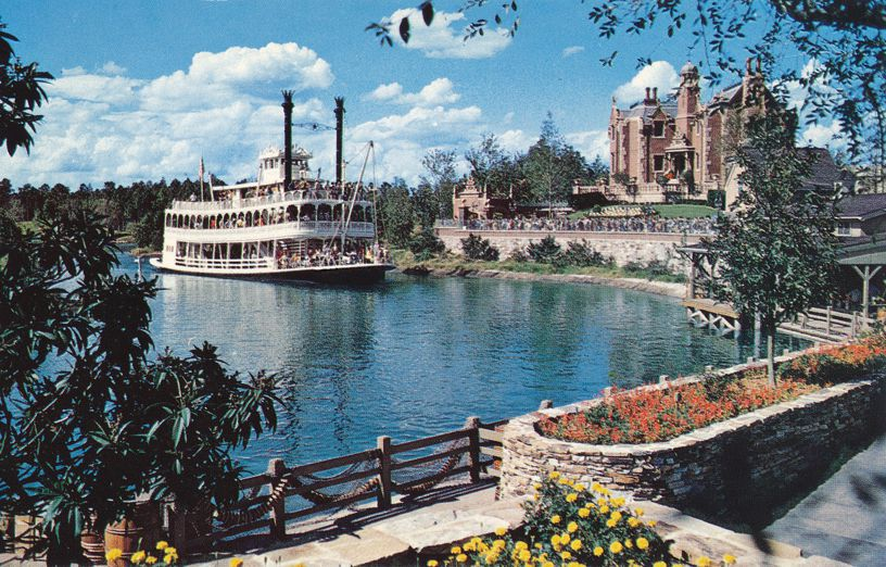 Orlando, Florida - Walt Disney World - Cruising Rivers of America