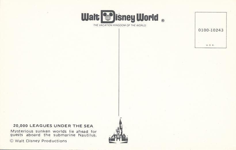 Orlando, Florida - Walt Disney World 20,000 Leagues Under the Sea