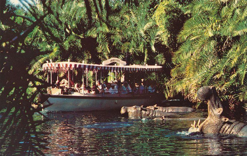 Orlando, Florida - Walt Disney World - Adventureland Jungle Cruise