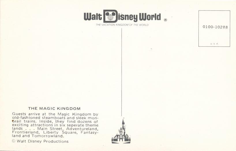Orlando, Florida - Walt Disney World - The Magic Kingdom