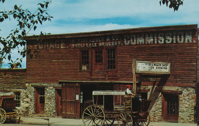 Virginia City, Montana - Storage Commission - Stable - Buy Two Keep One