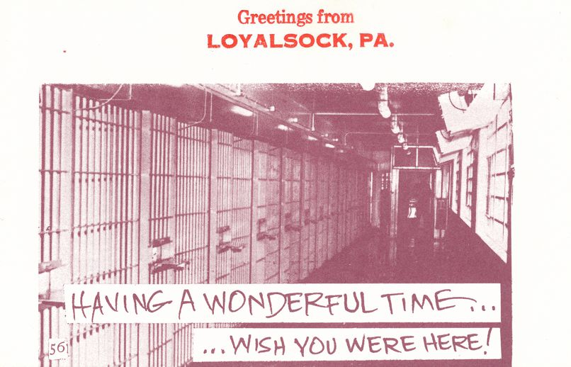 Greetings from Loyalsock, Pennsylvania - Village Print Humor - Wish You Were Here