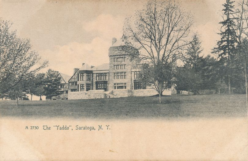 Saratoga Springs, New York - The Yaddo - Spencer Trask Estate - Rotograph - Undivided Back