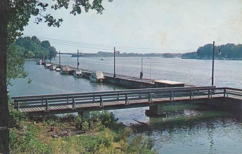 Brewerton, New York - State Dock on Oneida Lake