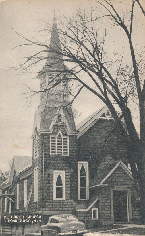 Ticonderoga, New York - The Methodist Church