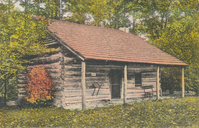 Letchworth State Park, New York near Castile - Mary Jamison House 1880