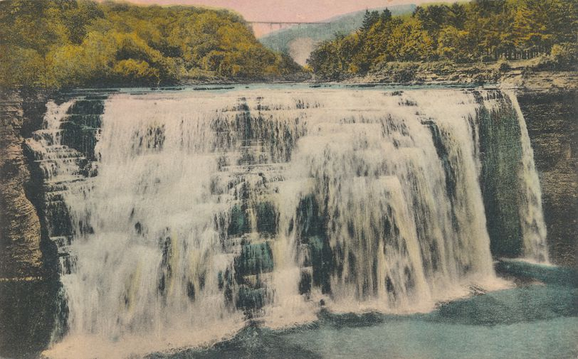 Letchworth State Park, New York near Castile - The Middle Falls
