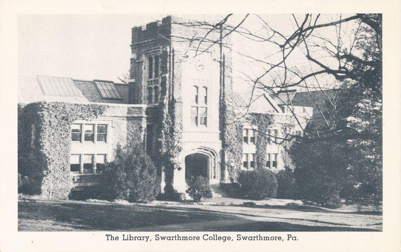 Swarthmore, Pennsylvania - Library at Swarthmore College