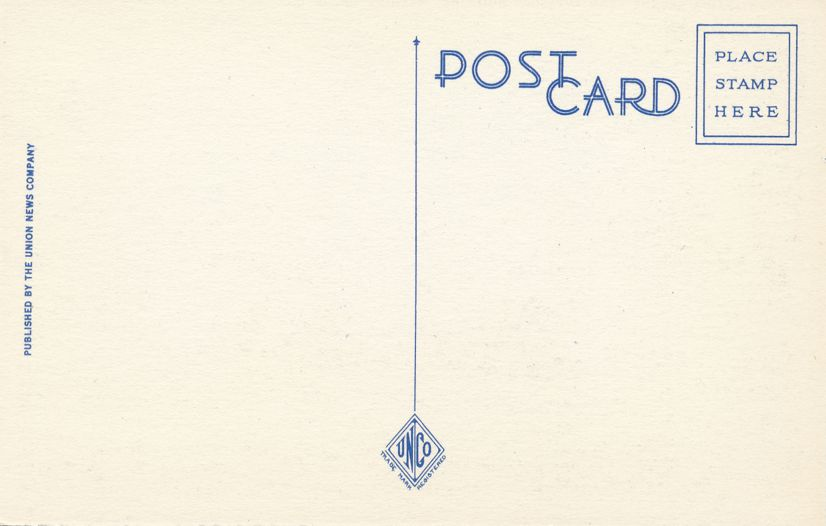 Pennsylvania Avenue, Washington, DC - View from Treasury Building - Linen Card
