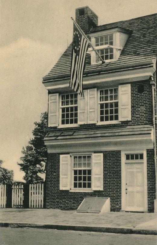 Philadelphia, Pennsylvania - Betsy Ross House - Birthplace of Old Glory