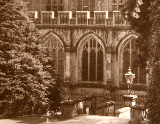 RPPC Great Priory Church, Malvern, Worcestershire, United Kingdom - Real Photo