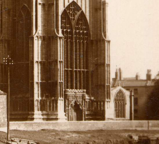 RPPC St. Botolph's Church aka Boston Stump, Boston, Lincolnshire, United Kingdom - Real Photo