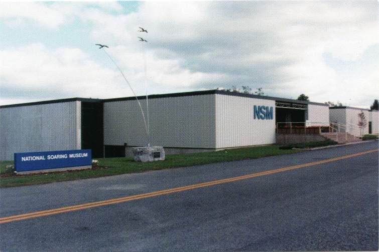 National Soaring Museum, Harris Hill, Elmira, New York - Glider