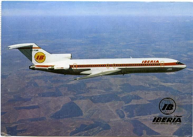 Boeing 727/256 - Spanish Plane - Iberia - Lineas Aereas de Espana
