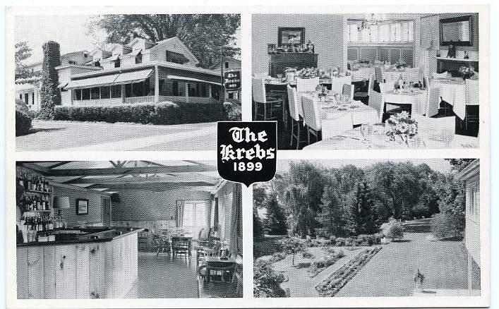 The Krebs Restaurant - Opened in 1899 and still going strong - Skaneateles, New York
