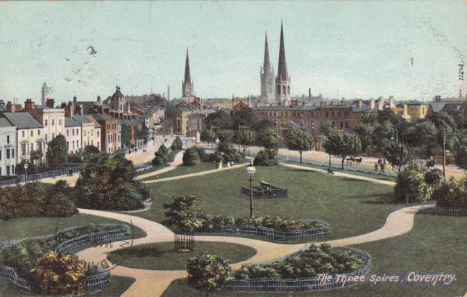 The Three Spires - Coventry, West Midlands, United Kingdom