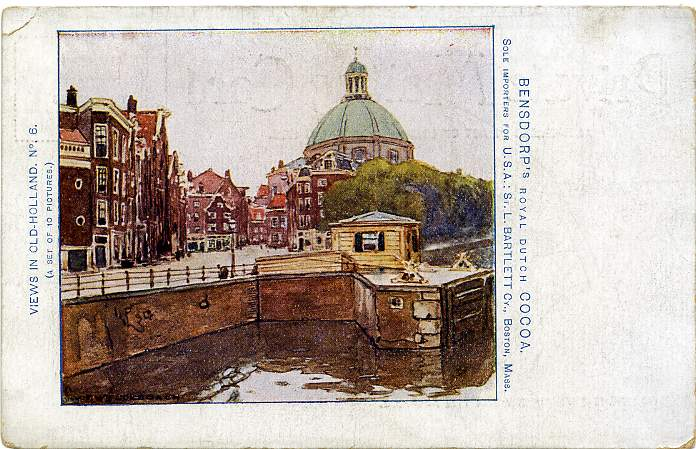 PMC - Old Holland View - Bensdorp's Royal Dutch Cocoa - Bartlett Company of Boston, Massachusetts