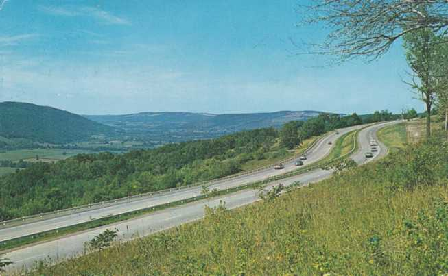 Playles Tully Valley and Interstate 81  South of Syracuse New