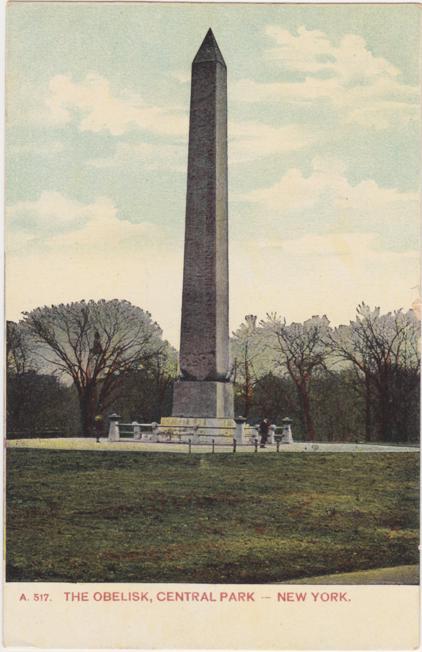 The Obelisk at Central Park