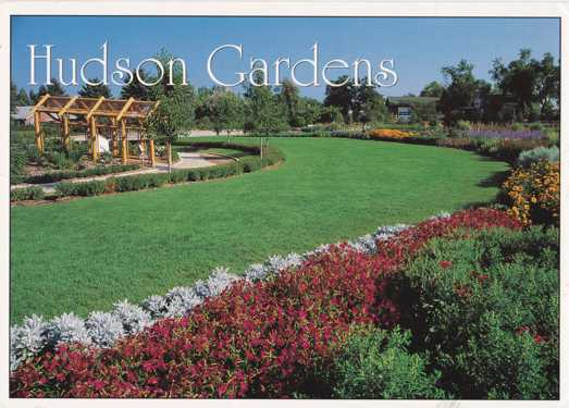 The Oval Garden At Hudson Gardens Littleton Colorado Pm 1997 Denver