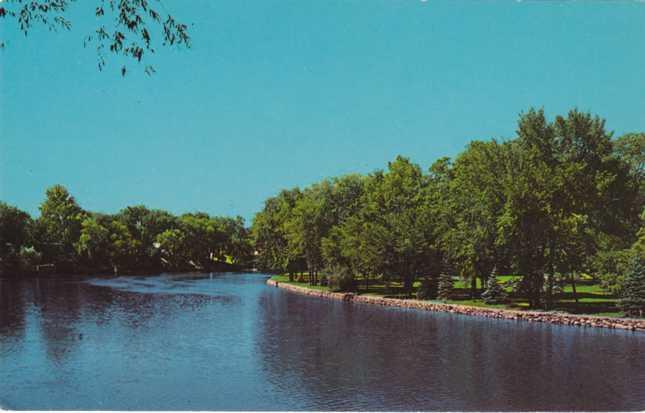 McNaughton Park on St Joseph River - Elkhart, Indiana