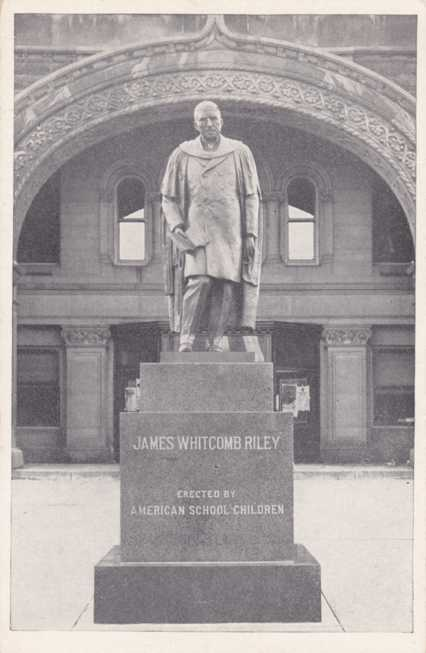 James Whitcomb Riley Statue - Greenfield, Indiana