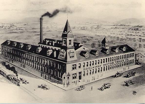 Brockway Motor Truck Company Plant - Cortland, New York