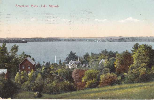 Buy Here Pay Here Ma >> Playle's: Lake Attitash - Amesbury, Massachusetts - pm 1909 - Divided Back - Store Item ...