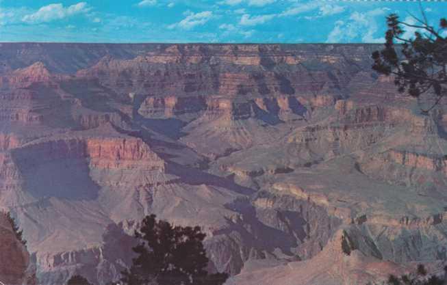 Near Pima Point - Grand Canyon National Park, Arizona - Fred Harvey