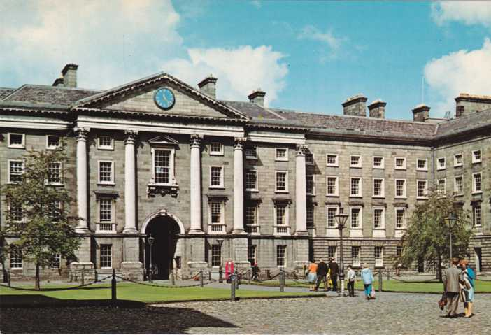 Trinity College - Dublin, Ireland - First University to grant degrees to non-Christians and Women