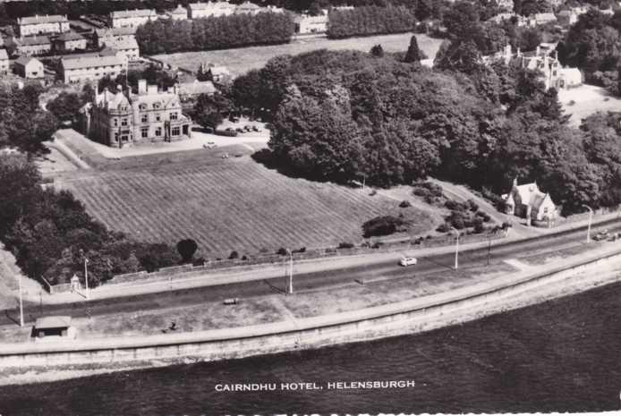 RPPC Cairndhu Hotel - Helensburgh, Scotland, United Kingdom - Real Photo