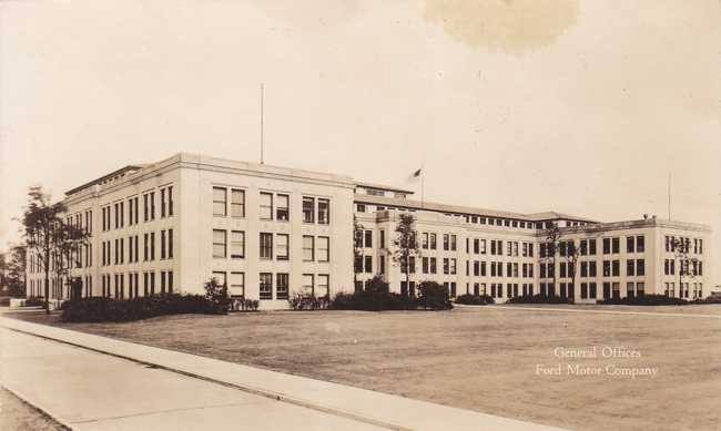 Playle 39 S Rppc Ford Motor Company General Offices