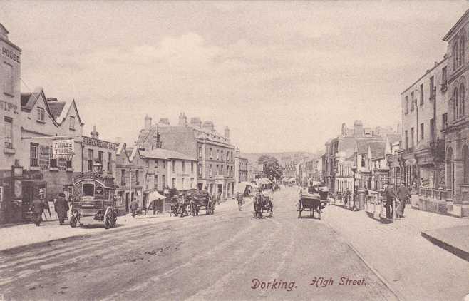 Dorking United Kingdom  City pictures : ... on High Street Dorking, Surrey, United Kingdom Undivided Back