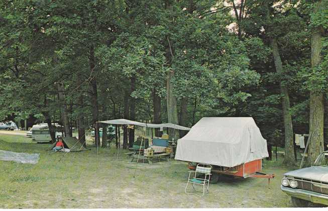 Buy Here Pay Here York Pa >> Playle's: Camping at Cook Forest State Park - Pennsylvania ...