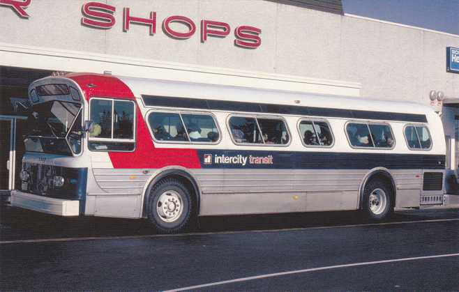 Intercity Transit Bus in 1980 - Olympia, Washington