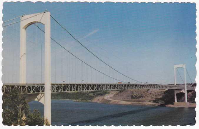 Pont Pierre Laporte - Bridge - Quebec, Canada