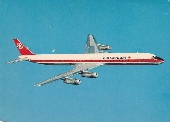 Air Canada Super DC8-61 International Jetliner