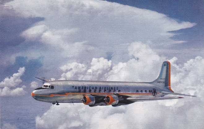 Playle S American Airlines Douglas Dc 6 Flagship