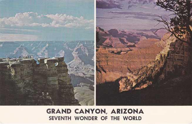 Seventh Wonder of the World - Grand Canyon, Arizona