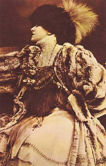 Sarah Bernhardt - The Devine Sarah - French Actress - 1844-1923