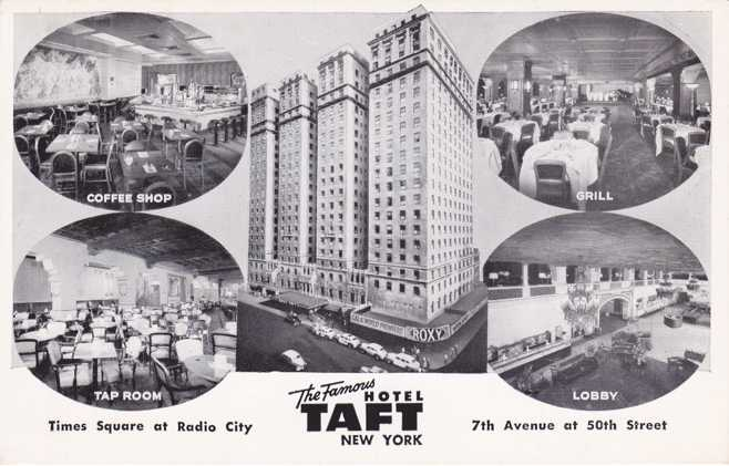 Multiview Taft Hotel at Times Square, New York City