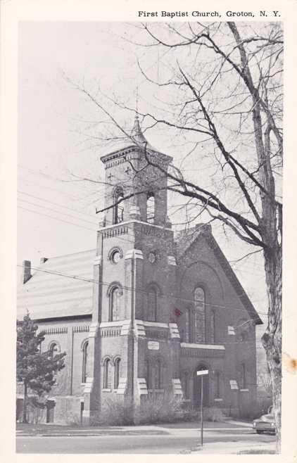 First Baptist Church of Groton, New York - pm 1985 at Syracuse