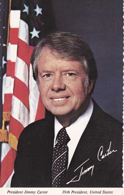 39th President of the United States - Jimmy Carter