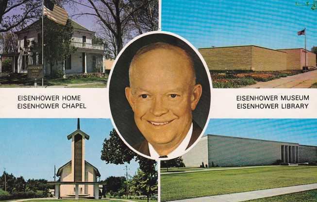 President Dwight D Eisenhower - Home - Museum - Library - Abilene, Kansas