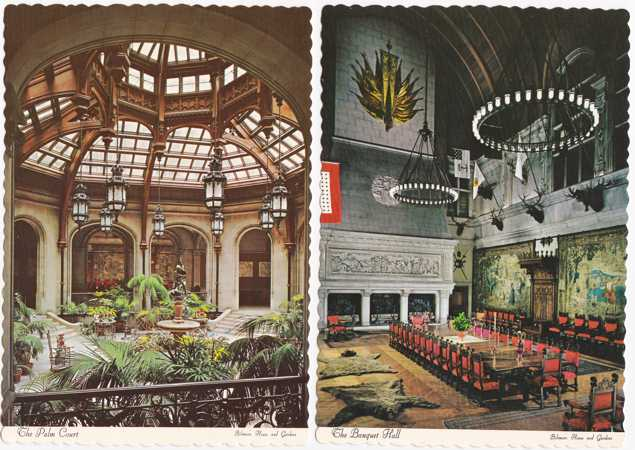 (2 cards) Biltmore House Hotel - Asheville, North Carolina