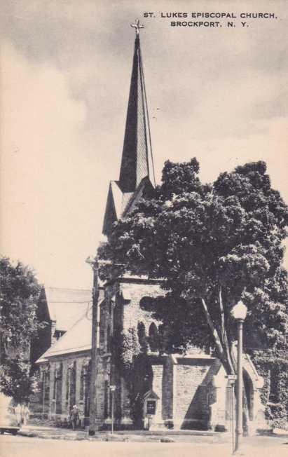 St Lukes Episcopal Church - Brockport, New York