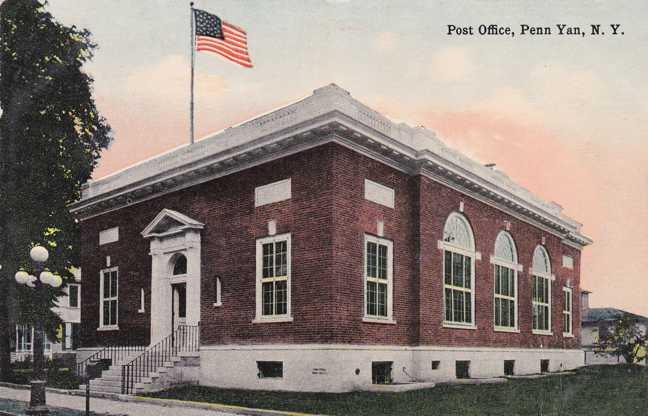 Penn Yan (NY) United States  city photo : United States Post Office Penn Yan, New York