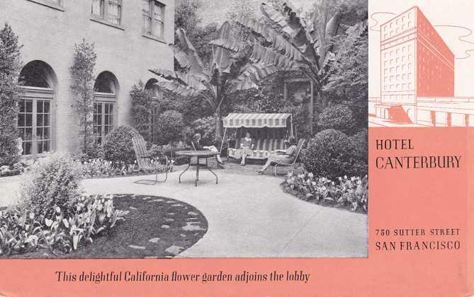 Hotel Canterbury on Sutter Street - San Francisco, California