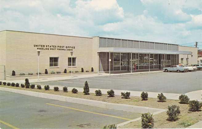 United States Post Office - Wheeling, West Virginia